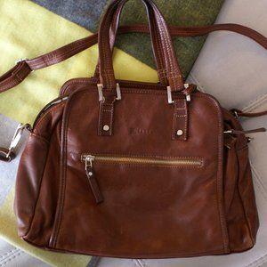 100% genuine leather shoulder bag / cross-body